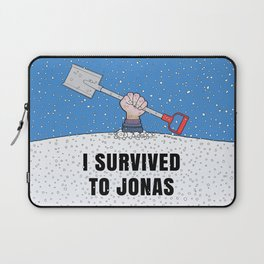 I SURVIVED TO JONAS Laptop Sleeve