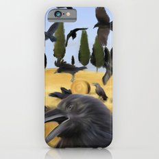 Crows in Tuscany iPhone 6s Slim Case