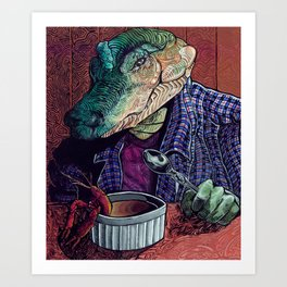 What's in the Gumbo Art Print