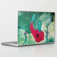 arnold Laptop & iPad Skins featuring Arnold Schwarzenegger HI-5 by Ales