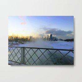 Calgary Winter Metal Print
