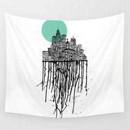 City Drips Wall Tapestry