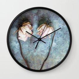 Heart of Roses II Wall Clock