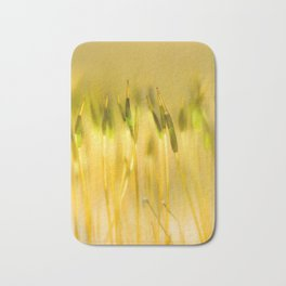 Colorful sprouts Bath Mat