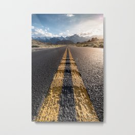California Roadtrip Metal Print