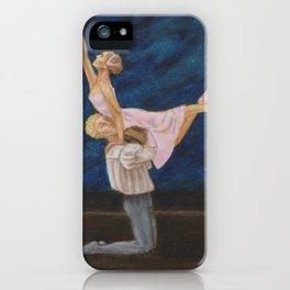 Ballet and romance #4 iPhone Case