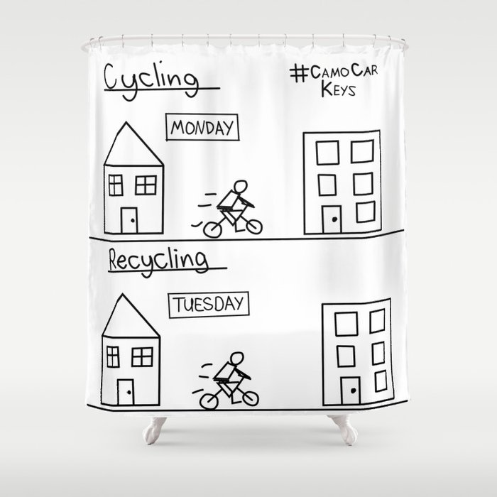 Recycling Shower Curtain By Camocarkeys