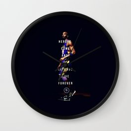 KobeBryant Quotes Wall Clock