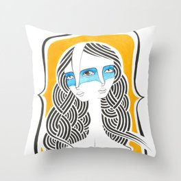 Alquimia Throw Pillow