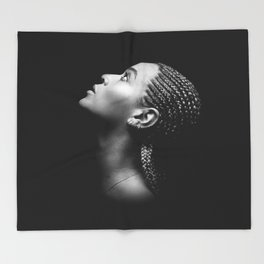 Bey #1 Throw Blanket