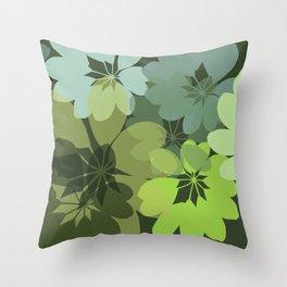 DG  Flowers Shape Throw Pillow