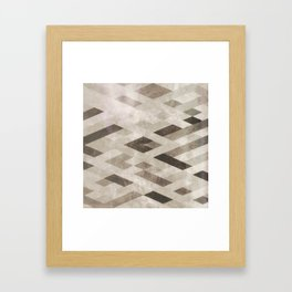 Abstract Pattern in Subtle Framed Art Print
