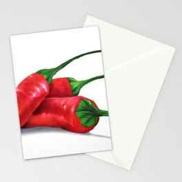 Chile de Arbol (Tree Chili) Stationery Cards