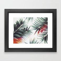 Vintage plants Framed Art Print