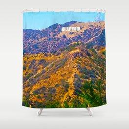 @Hollywood Shower Curtain