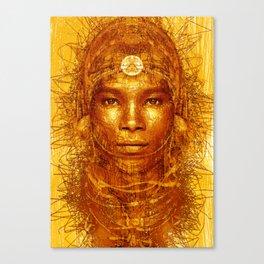 lorn Tribe Canvas Print