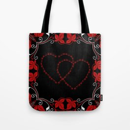Hearts Entwine Tote Bag