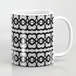 Heartlines gray pattern Coffee Mug