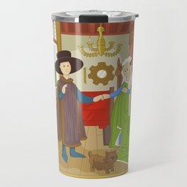 Arnolfini Portrait by Jan Van Eyck Travel Mug