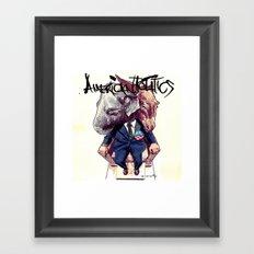 American Politics Framed Art Print