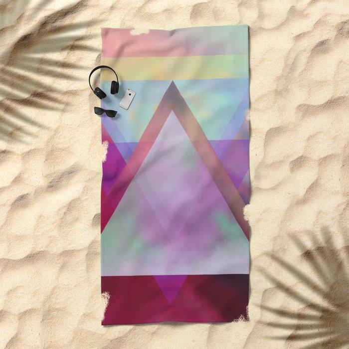 Transformation Beach Towel