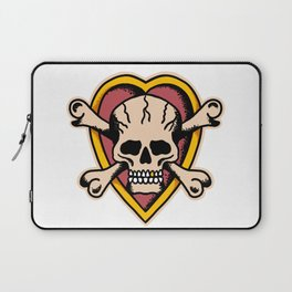 True 'Til Death Laptop Sleeve