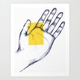 Hand Art Print