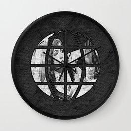 The Drive Thru  ( speaker box POV ) Wall Clock
