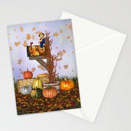 Seasons Mailbox Autumn Stationery Cards