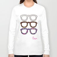 glasses Long Sleeve T-shirts featuring Glasses by @thecultureofme