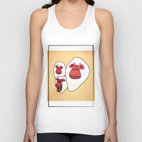 planet of the apes Tank Tops featuring Apes by Federica Amico