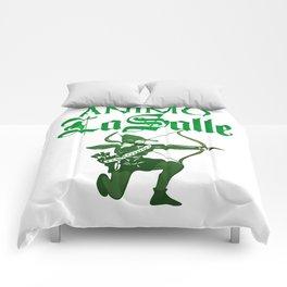 Animo La Salle Art Comforters