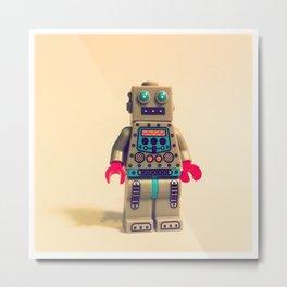Robot 2000 Metal Print