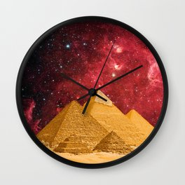 The Great Pyramids Wall Clock