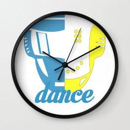 DANCE AND GET LUCKY T-SHIRT Wall Clock