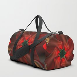 Merry Christmas With Love Duffle Bag