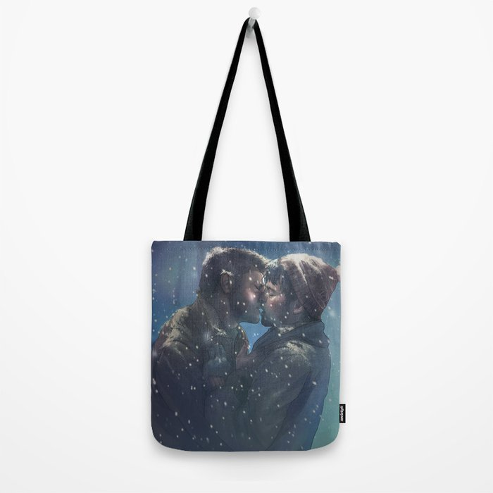 Winter Destiel Tote Bag