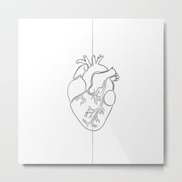 Continuous Love Metal Print
