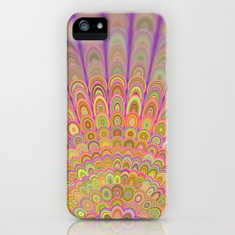 Happy Morning Mandala iPhone Case