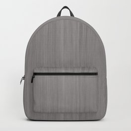 Slate Violet Gray SW9155 Smooth Wood Grain Pattern Backpack