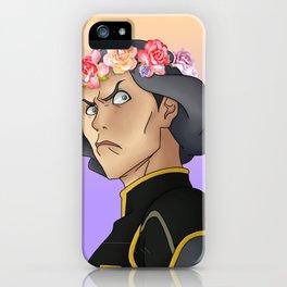 Lin Beifong - Flower Crown iPhone Case