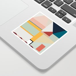 modern abstract II Sticker