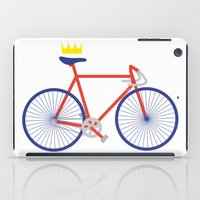 bike iPad Cases featuring Bike by Keep It Simple