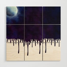 Painted Space Wood Wall Art
