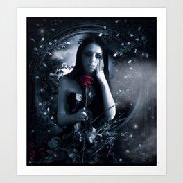 Blood Stained Valentine Art Print