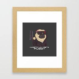 The Pugginator Framed Art Print
