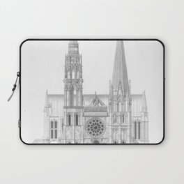 Cathedrale De Chartres Chartres Cathedral Laptop Sleeve