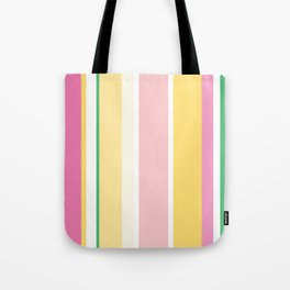 Manly Stripe Tote Bag