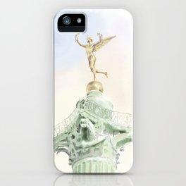 Colonne de Juillet , Place de la Bastille iPhone Case