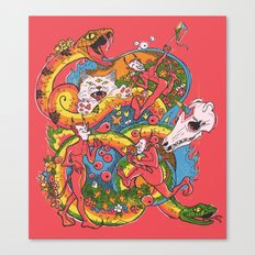 Holiday Imp Canvas Print